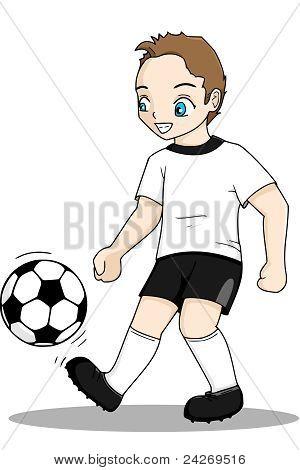 Fußball junge