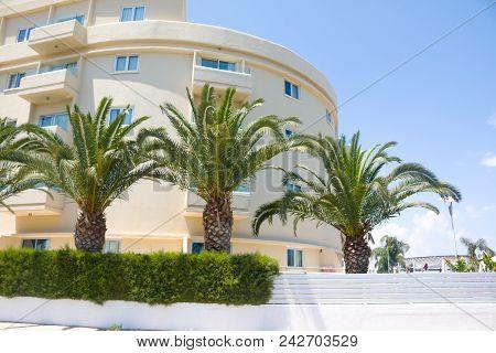Luxury Estate Building Of The Luxury Hotel