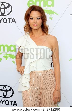 LOS ANGELES - MAY 22:  Scottie Thompson at the 28th Annual Environmental Media Awards at the Montage Beverly Hills on May 22, 2018 in Beverly Hills, CA