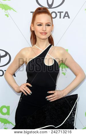LOS ANGELES - MAY 22:  Madelaine Petsch at the 28th Annual Environmental Media Awards at the Montage Beverly Hills on May 22, 2018 in Beverly Hills, CA