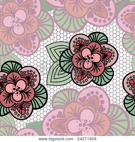 Lacy Background