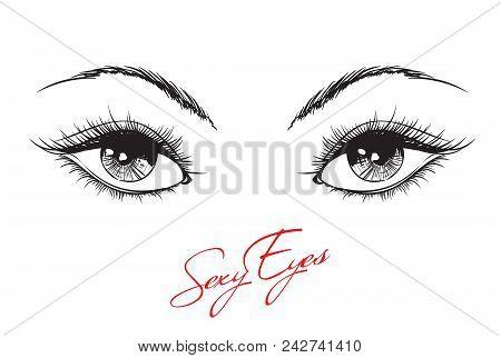 hand drawn woman s vector photo free trial bigstock