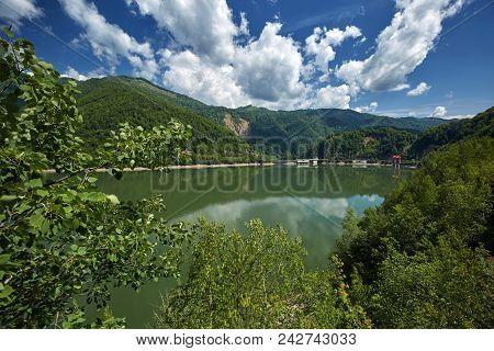 Olt River In Romania