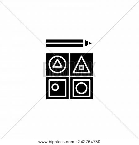 Staff Motivation Black Icon Concept. Staff Motivation Flat  Vector Website Sign, Symbol, Illustratio