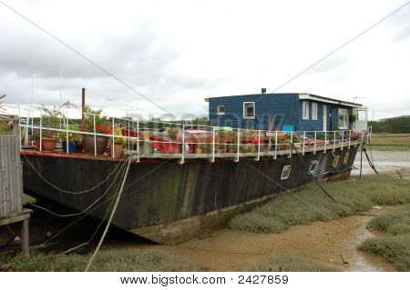 Houseboat In England