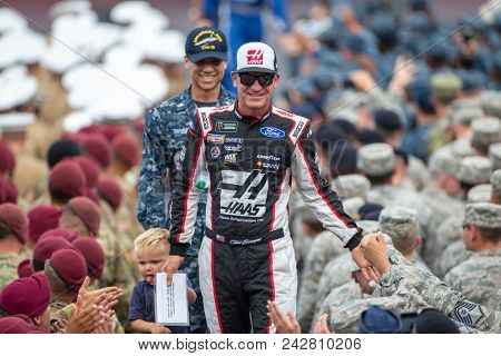 May 27, 2018 - Concord, North Carolina, USA: Clint Bowyer (14) gets ready for the Coca-Cola 600 at Charlotte Motor Speedway in Concord, North Carolina.