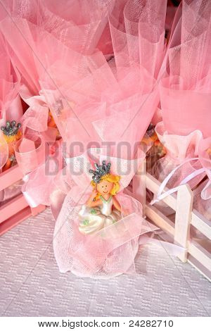 Pink Candy Favors