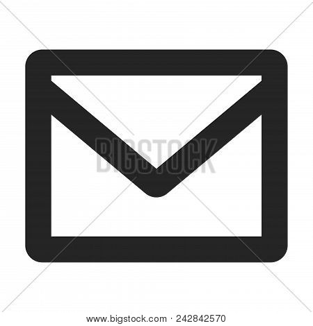 Envelope Icon Simple Vector Sign And Modern Symbol. Envelope Vector Icon Illustration, Editable Stro