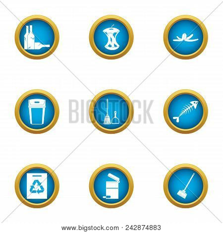Miscarry Icons Set. Flat Set Of 9 Miscarry Vector Icons For Web Isolated On White Background