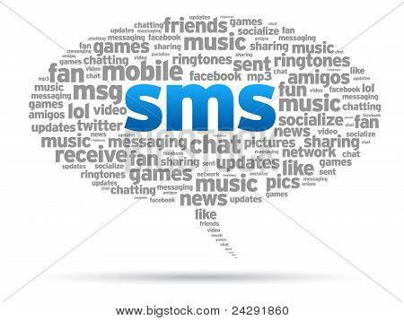 Speech Bubble - Sms