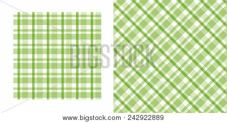 Stock Vector Plaid Background. Concept Seamless Pattern Vector Illustration