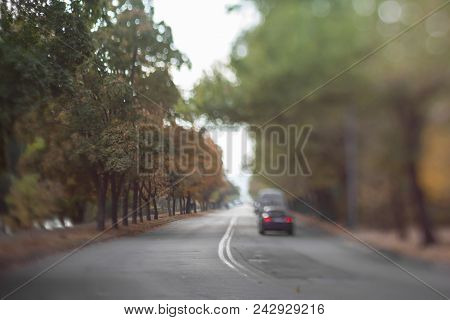 Mysterious Blurry Road.