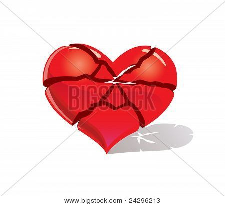 Brocken heart