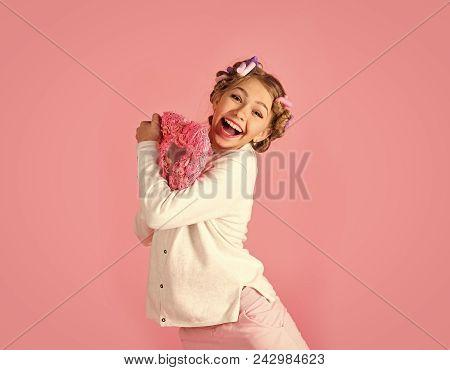 Child Childhood Children Happiness Concept. Valentines Day, Love, Birthday. Childhood, Happiness, Pu