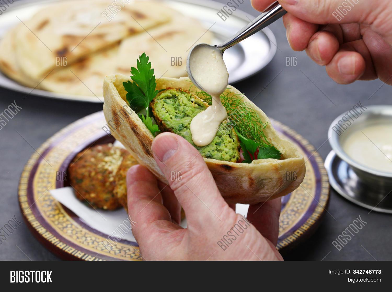 Egyptian Falafel Image Photo Free Trial Bigstock