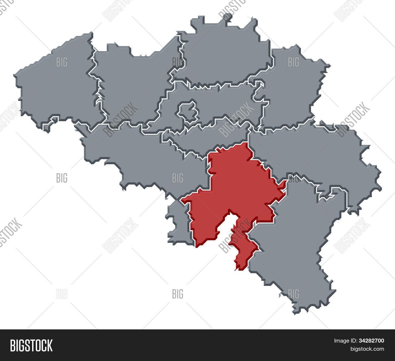 Map belgium namur image photo free trial bigstock map of belgium namur highlighted gumiabroncs Images