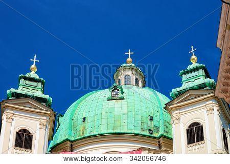 St Peters Church On Graben Street In Vienna In Austria