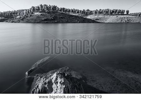 Photographed At Gabriel Y Galán Reservoir. Caceres. Spain.