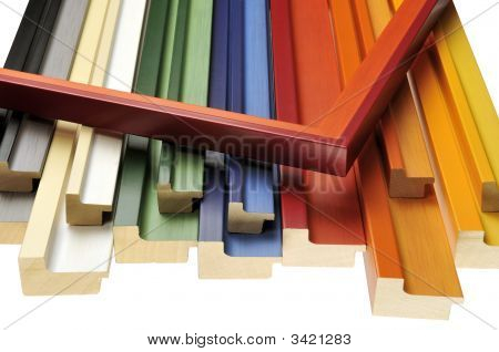 Colorful Mouldings