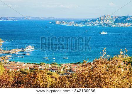 Landscape Of Palau Maddalena Island On Sardinia Italy