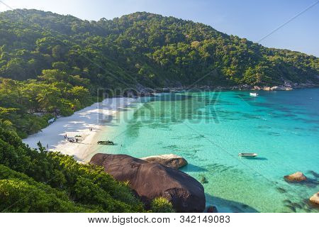 Similan Islands, Thailand. Tropical Landscape.