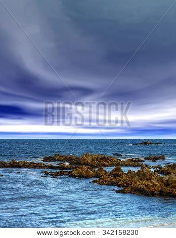 Asilomar State Marine Reserve Monterey Bay California