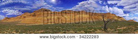 Beautiful Picturesque Panorama Ustyurt