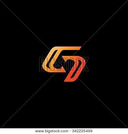 G Letter Logo Iconic. Luxury Strength Bold Gold Letter G. Branding Website, Sport, Apparel, Adventur