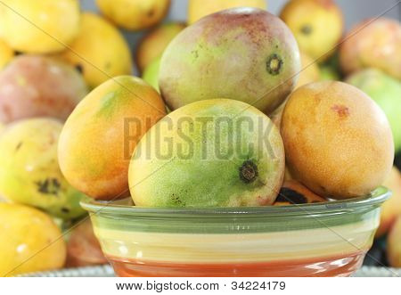 background fruit mangoes