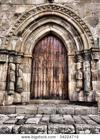 Door of Santa Maria del Azogue church