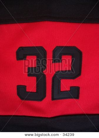 Number On Football Jersey Sleeve