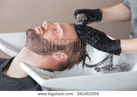 Terrific Hairdresser Washes Image Photo Free Trial Bigstock Schematic Wiring Diagrams Phreekkolirunnerswayorg