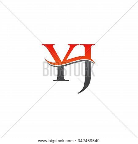 Initial Yi Letter Linked Logo Vector Template. Creative Letter Yi Logo Vector.