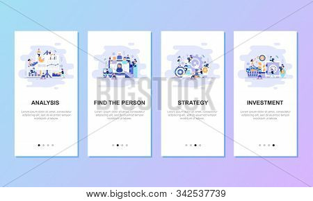 Onboarding Screens Vector Photo Free Trial Bigstock
