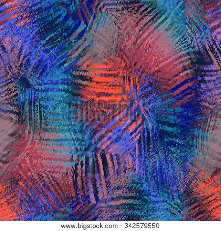 Stained Glass Refracted Light Pattern Motif Swatch