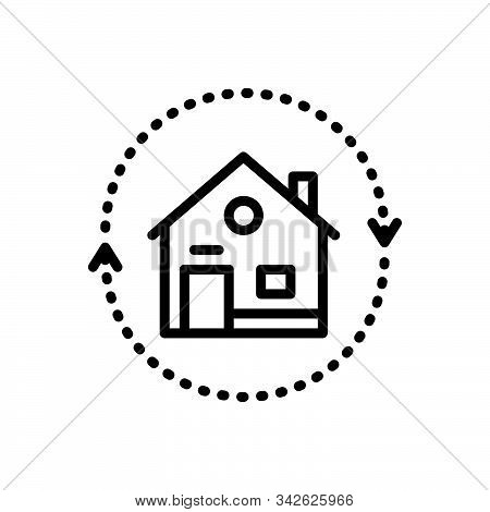 Black Line Icon For Reverse-mortgages Reverse Mortgages Change Retirement Equity