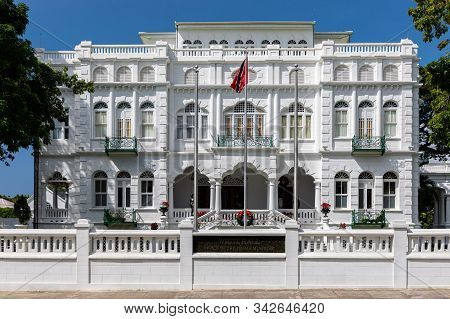 White Hall, Office Of The Prime Minister Of Trinidad And Tobago, Port Of Spain City, Caribbean. One