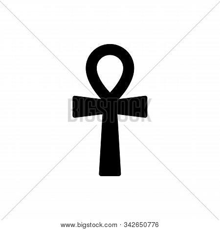 Ankh Or Key Of Life - Ancient, Religious, Egyptian, Hieroglyphic Symbol Of Eternal Life. Crux Ansata