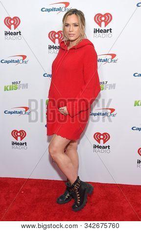 LOS ANGELES - DEC 06:  Teddi Jo Mellencamp arrives for the KIIS FM Jingle Ball 2019 on December 06, 2019 in Los Angeles, CA