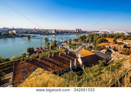 Cityscape Of Novi Sad - Vojvodina, Serbia, Europe