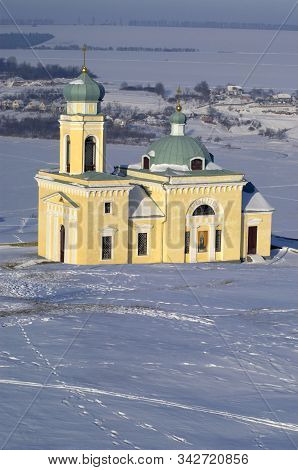 Alexander Nevsky Church In Khotyn