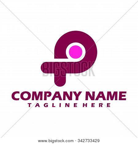 P. P Monogram Logo. P Letter Logo Design Vector Illustration Template. P Logo Vector. Creative Lette