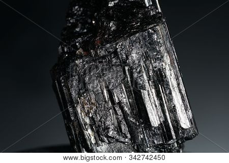 Tourmaline Photographed With The Macro In Best Studio Quality And High Resolution