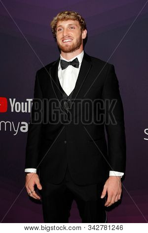 LOS ANGELES - DEC 13:  Logan Paul at the 9th Annual Streamy Awards at the Beverly Hilton Hotel on December 13, 2017 in Beverly Hills, CA