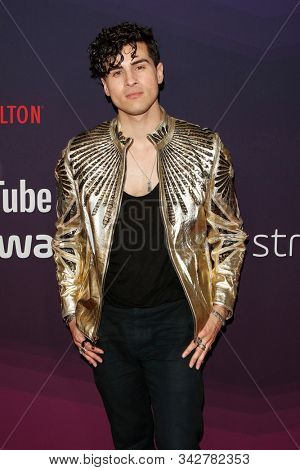 LOS ANGELES - DEC 13:  Anthony Padilla at the 9th Annual Streamy Awards at the Beverly Hilton Hotel on December 13, 2017 in Beverly Hills, CA
