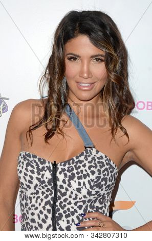LOS ANGELES - DEC 5:  C.J. Franco at the Babes for Boobs 5th Annual Live Bachelor Auction at the El Rey Theater on December 5, 2018 in Los Angeles, CA