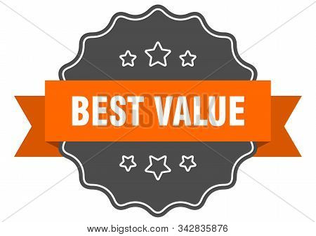 Best Value Isolated Seal. Best Value Orange Label. Best Value