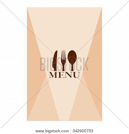 Vintage Restaurant Menu Image - Vector Illustration Design