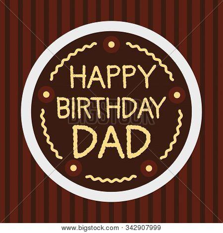 Strange Birthday Cake Dad Vector Photo Free Trial Bigstock Funny Birthday Cards Online Alyptdamsfinfo