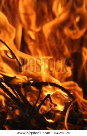Blaze Of Flames